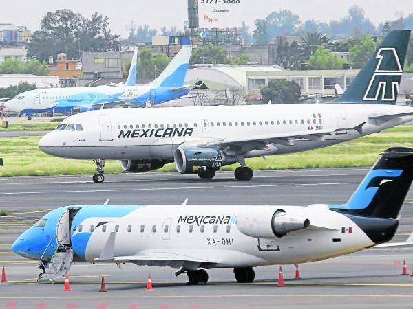 Aerolínea Mexicana fue declarada en quiebra este viernes