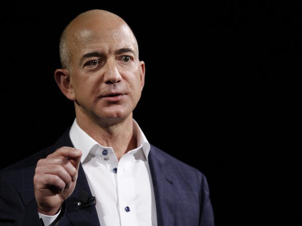Jeff Bezos, responsable ejecutivo de Amazon.
