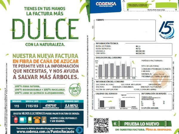 factura de codensa
