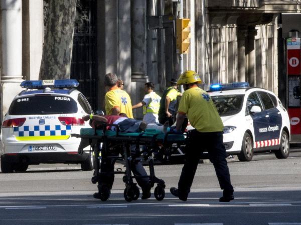 Detienen a dos sospechos por atentado terrorista en Barcelona