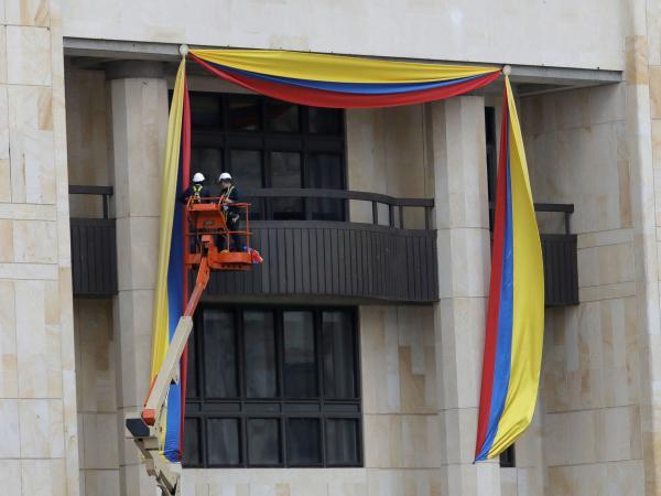 Macri llegó a Colombia para la asunción de Duque