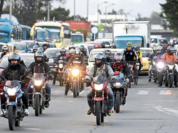 Según el Runt, los registros de motos crecían 5% hasta mayo