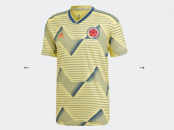 Misionero Brote forma  Adidas presentó la nueva camiseta de la Selección Colombia   Tendencias    Portafolio