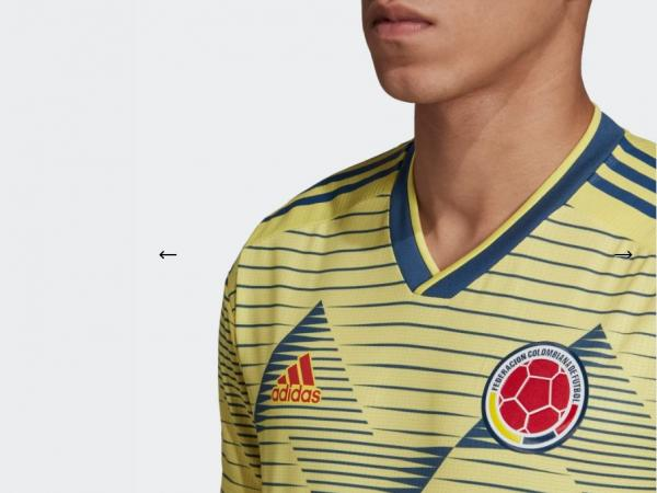 Camiseta Seleccion Colombia 2019 Image: Adidas Presentó La Nueva Camiseta De La Selección Colombia