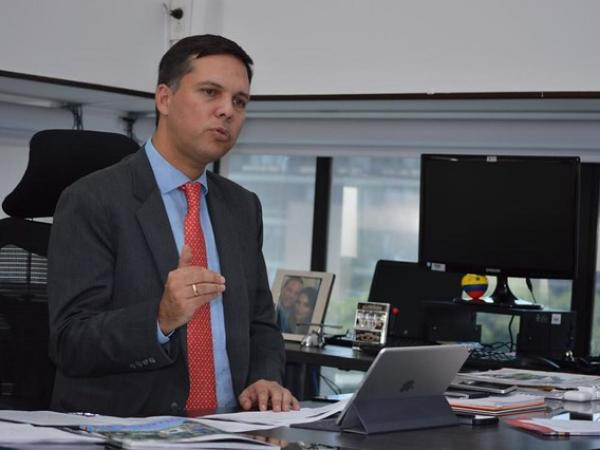 Juan B. Pérez Hidalgo, presidente de Coljuegos