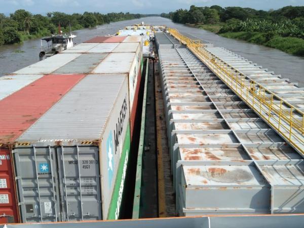 Arrancó primera operación multimodal entre Cartagena y La Dorada - m.portafolio.co