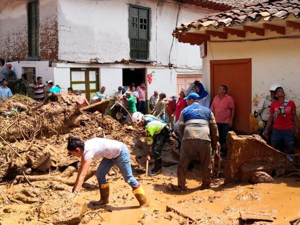 Evacuan a más de 1.000 personas por avalancha en Jericó, Antioquia - m.portafolio.co