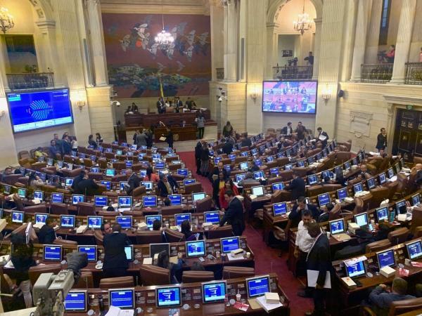 Aprobada la reforma tributaria en la Cámara de Representantes