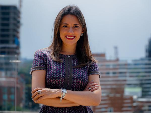 María Fernanda Quiñones, presidenta de la CCE.