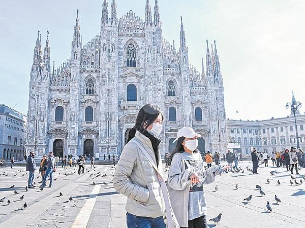 Coronavirus estalla en Europa y sacude a mercados globales