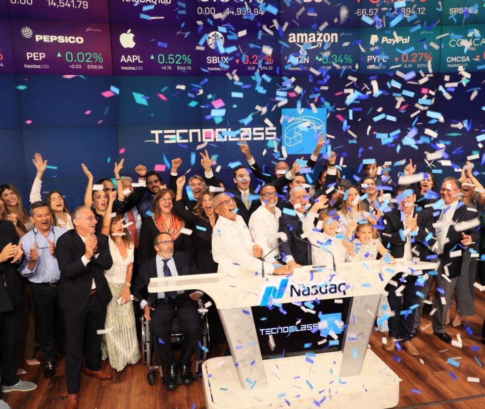 Tecnoglass tocó una vez más la campana para la apertura de Nasdaq - Noticias de Colombia