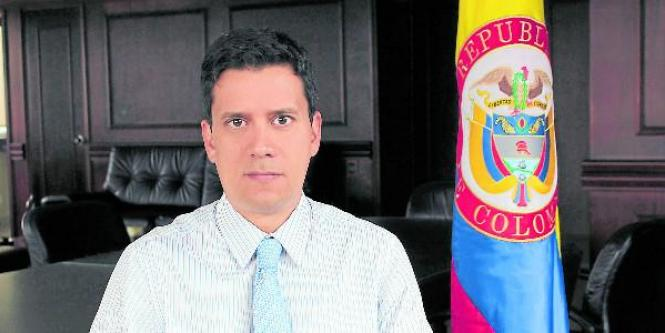 Javier Humberto Guzmán Cruz, director general del Invima.