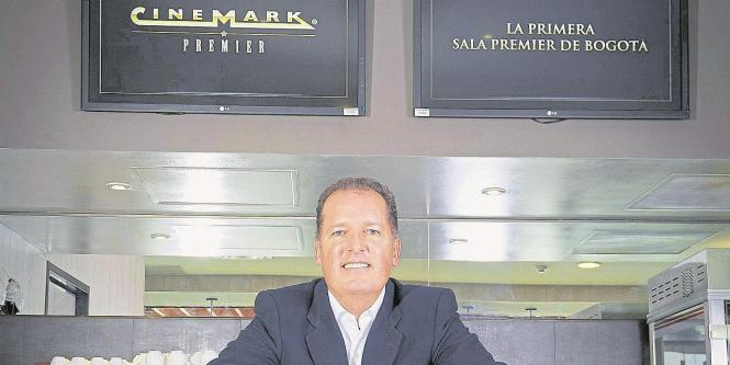 Pablo Umaña, gerente General de Cinemark