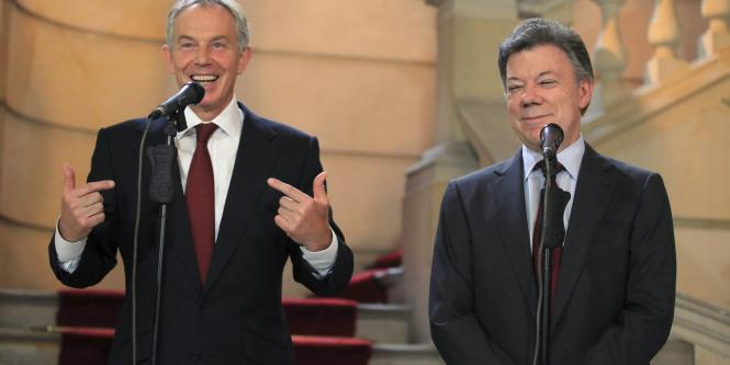 'The Sunday Telegraph', denuncia irregularidades en la asesoría de Blair a Colombia..