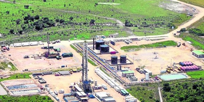 Campo Kona, de la petrolera Parex Resources, en el Casanare.