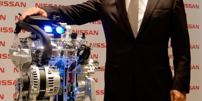 CEO de Nissan, Carlos Ghosn.