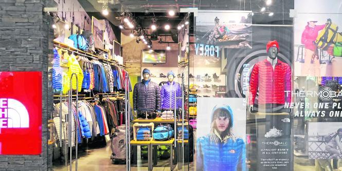tiendas north face bogota colombia