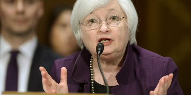 Presidenta de la Fed Janet Yellen