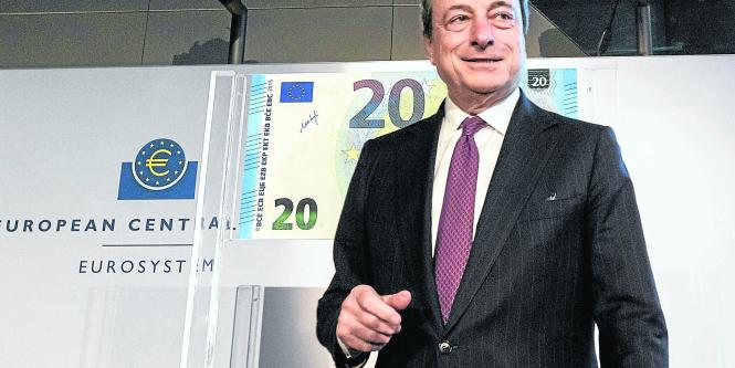 El presidente del Banco Central Europeo (BCE), Mario Draghi.