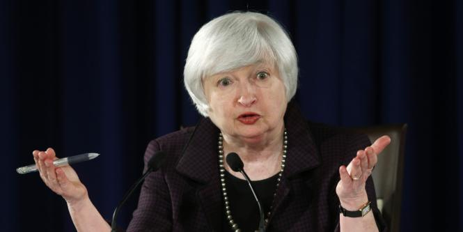 Janet Yellen, presidenta de Reserva Federal ( Fed).