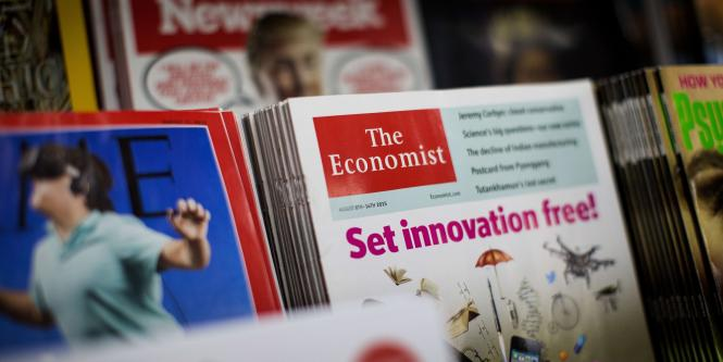 Una copia de la revista The Economist que se vende en Londres.