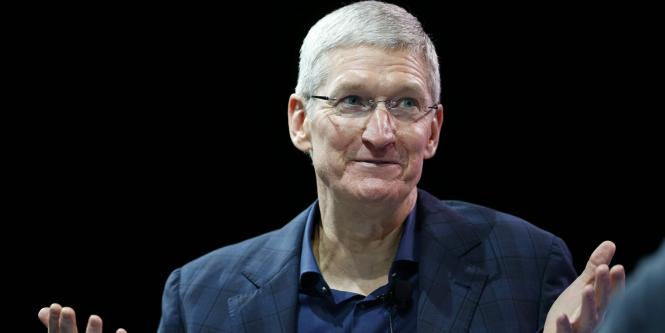 Tim Cook, CEO de Apple.