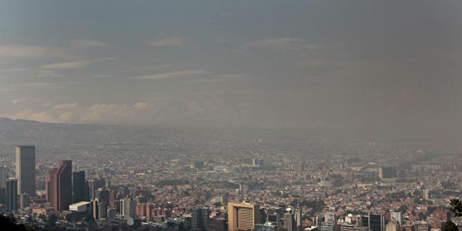 Image result for contaminación bogotá