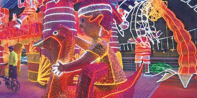 6c0bfee1515 Luces navideñas iluminan el país