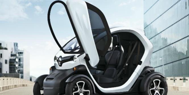 Twizy, el carro eléctrico de Renault