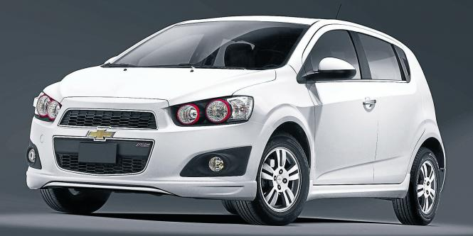 Chevrolet Sonic RS.