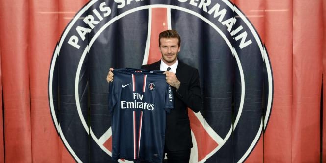 David Beckham jugador del París Saint-Germain
