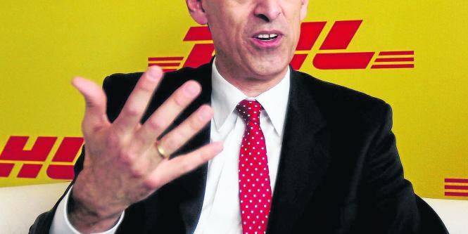 Frank Appel, presidente de Deutsche Post DHL.