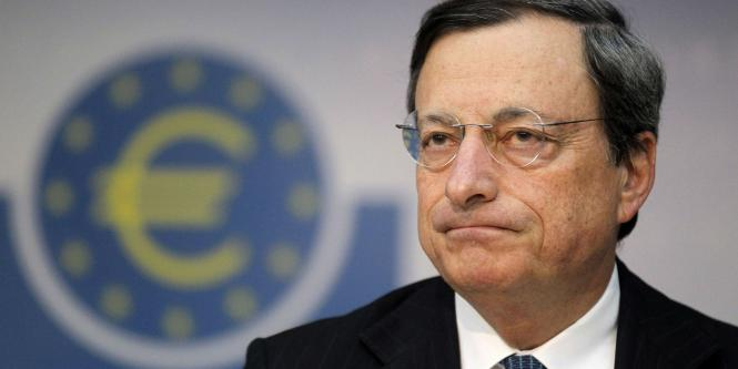 Mario Draghi, director del Banco Central Europeo