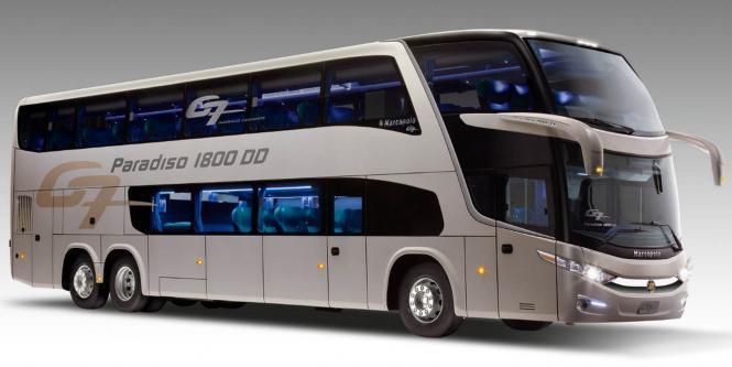 Volvo y super polo lanzaron primer bus de dos pisos empresas negocios portafolio - Autobuses de dos pisos ...