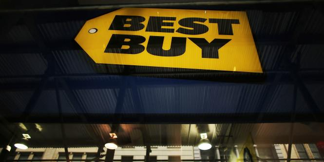 Ganancias de cadena Best Buy bajaron 91 %