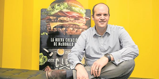 Francisco Staton, director general de Mc Donald's Colombia