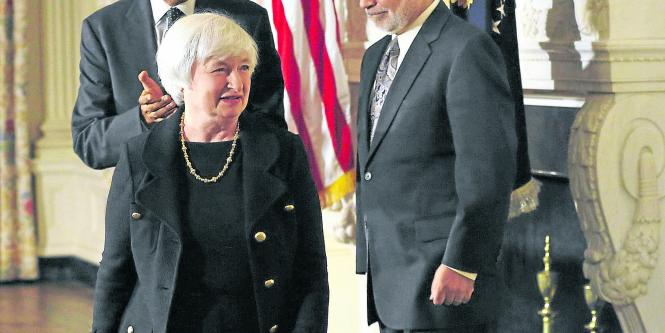 Janet Yellen y Barack Obama