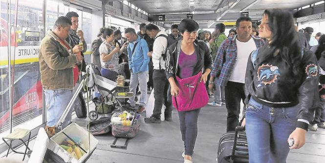 Ambulantes TransMilenio