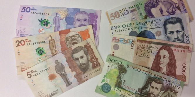 Resultado de imagen para billetes en colombia