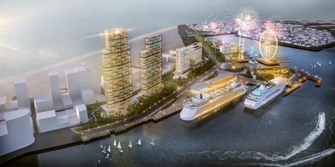 Este será el nuevo puerto donde antes se ubicaba la base naval de Cartagena.