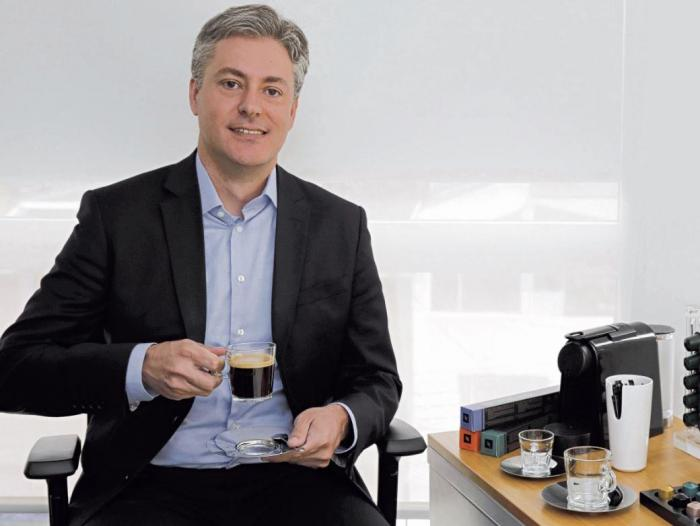 Thomas Zurita, director de Nespresso Colombia