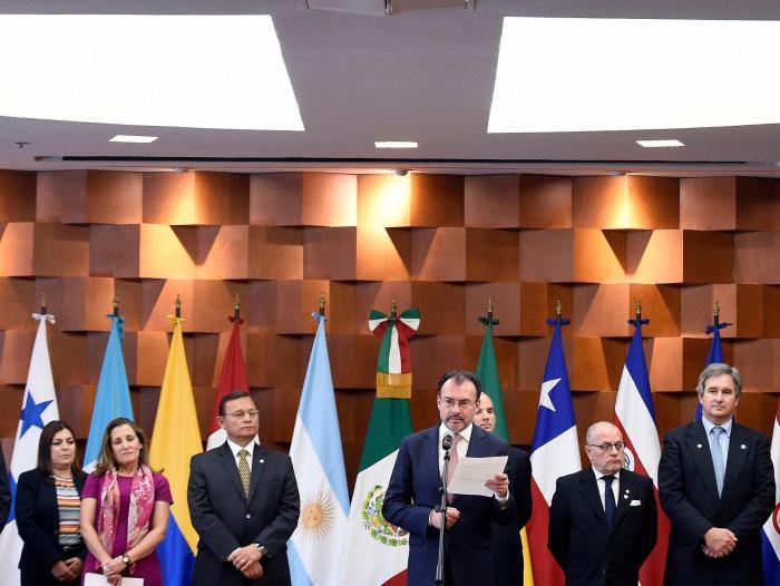 59d4f5f8b Los Cancilleres Grupo de Lima se reunirán a fin de analizar la situación en  Venezuela y adoptar medidas ante el inicio