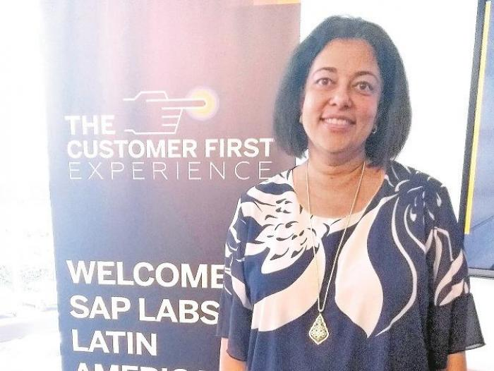 Mala Anand es la presidenta global de SAP Leonardo & Analytics.