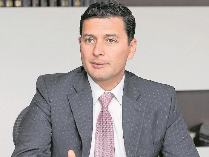 Jorge Castaño, superintendente Financiero de Colombia.