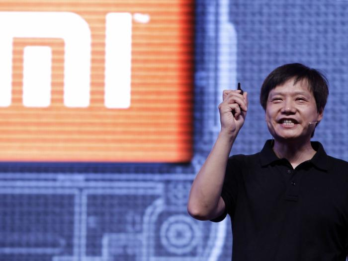 Lei Jun, fdador y CEO de la compañía china Xiaomi