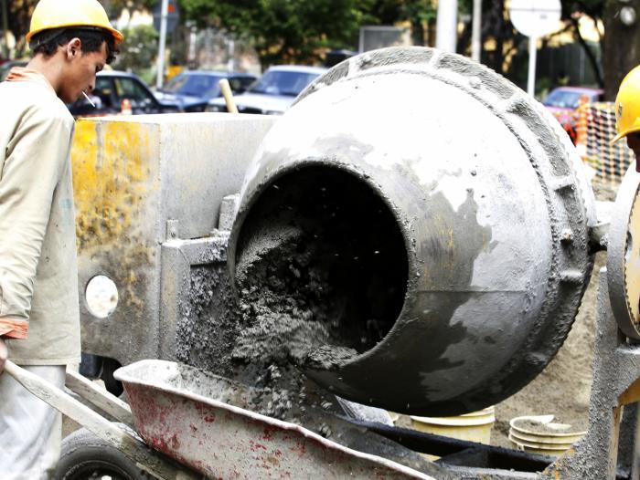 Producción de cemento gris bajó en julio 1,4 %