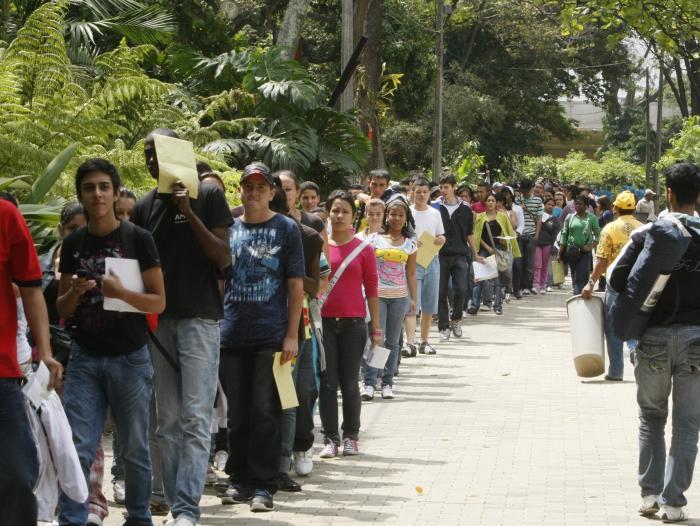 Resultado de imagen para desempleo en colombia