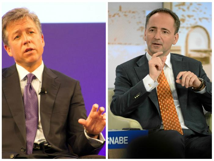 Bill McDermott y Jim Hagemann Snabe