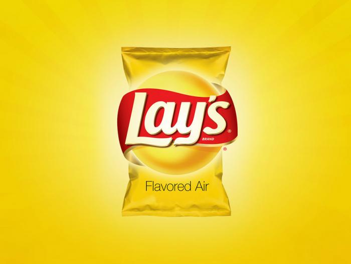 Lay's, saben a aire.