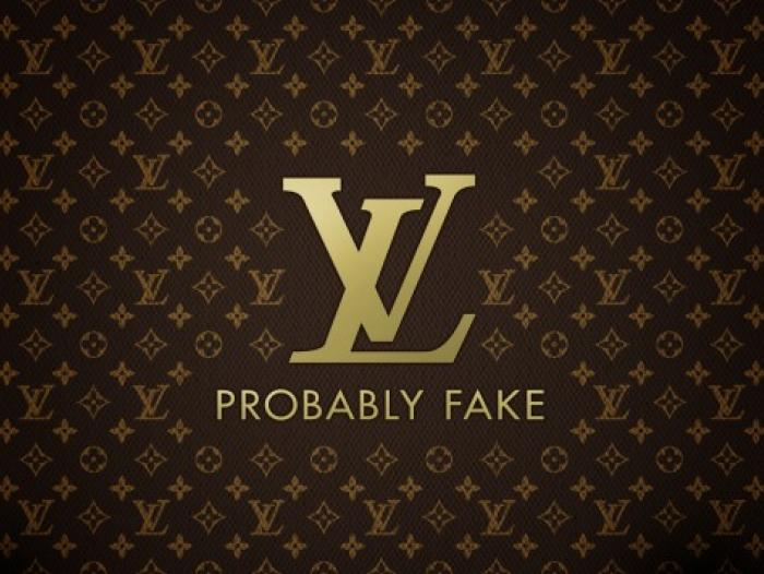 Louis Vuitton, probablemente falso.